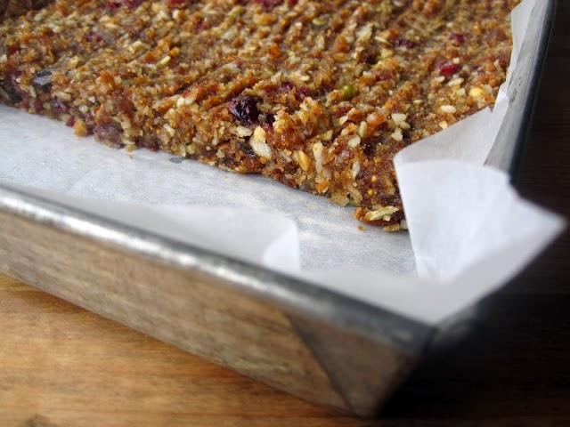 Peanut Butter Fruit Bars image