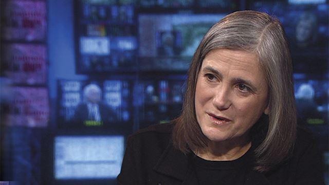 """Amy Goodman, no programa de TV e rádio """"Democracy Now"""": ameaçada de prisão"""
