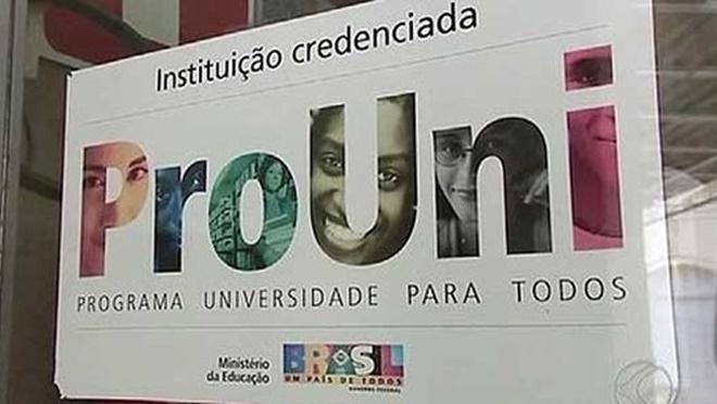 Inscrições para bolsas remanescentes do ProUni começam em 27 de março
