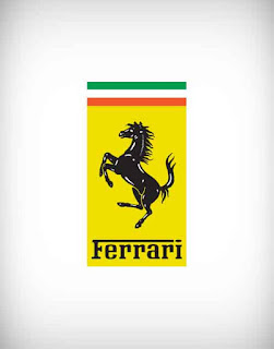 ferrari, ferrari vector logo, vehicle, cycle, bike, car, micro, private, bus, truck, plane, areoplane, transport, parts