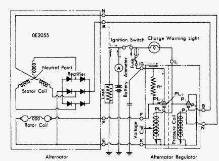 denso 1420 alternator 3 wire diagram