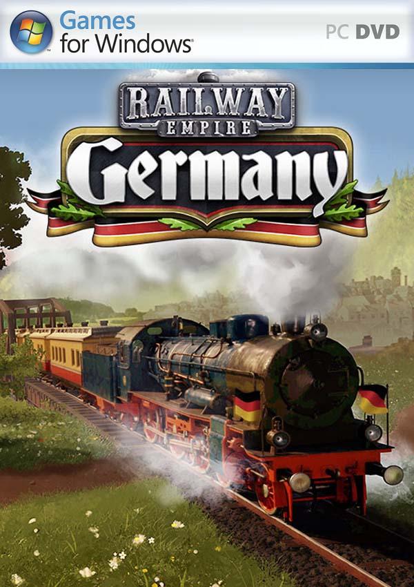 Railway Empire Germany PC Cover
