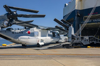 Pesawat V-22 Osprey Pertama Jepang
