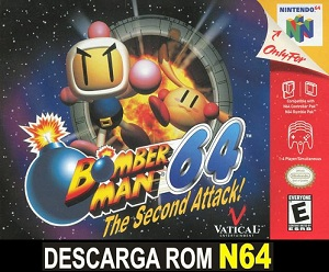 Bomberman 64 - The Second Attack! 64 ROMs Nintendo64