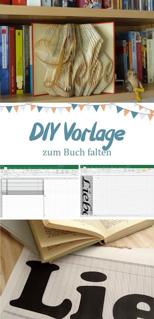 aab24ac9f0e0 Steffi's Hochzeitsblog: DIY: Vorlage zum Falten von Büchern selbst ...