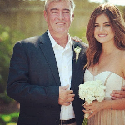 Lucy Hale apologizes after accusations of fat shaming after sharing photo with dad Preston Hale
