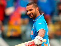 Indian Cricketer Shikhar Dhawan Pictures