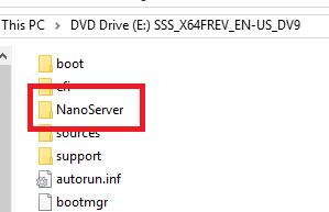 Musings of a PowerShell Mad Man: Creating a Nano Server Image