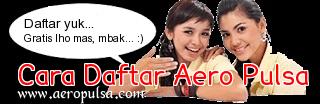 Cara daftar Master Dealer Aero Pulsa