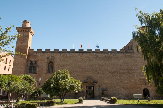 Descubriendo Navarra. El parador de Olite