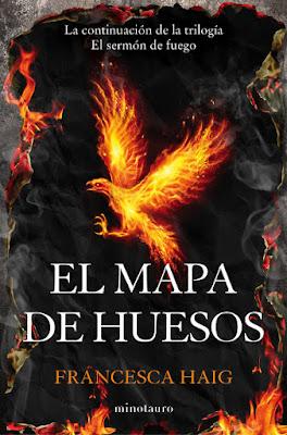 LIBRO - El mapa de huesos (El Sermón del Fuego #2) Francesca Haig (Minotauro - 31 mayo 2016) NOVELA CIENCIA FICCION Edición papel & digital ebook kindle Comprar en Amazon España