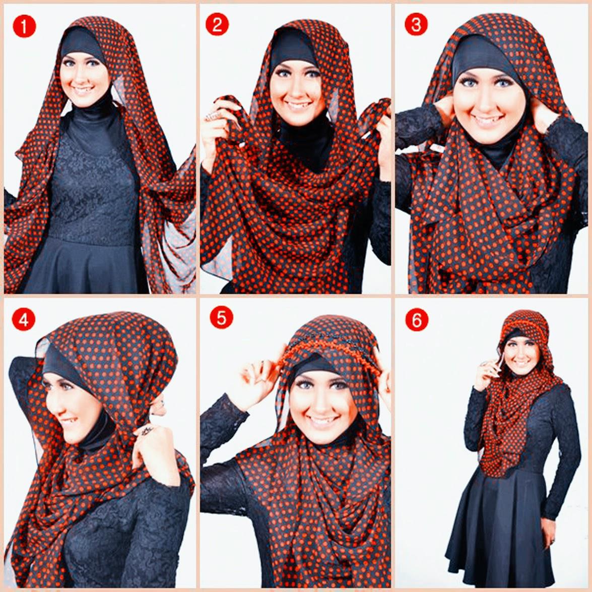 Hijab Segiempat Modis Sederhana Dan Cara Memakainya Butik Busana
