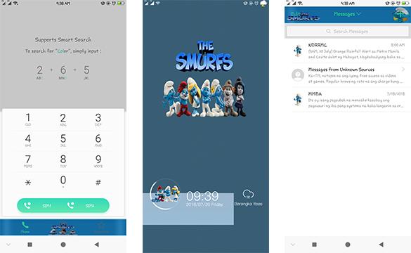 OppoTheme: Oppo Smurfs Theme