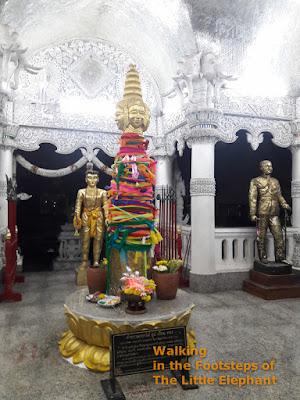 The City Pillar of Nan at the Wat Ming Muang