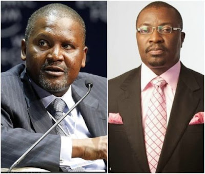 Aliko Dangote hands over 25 million naira to Ali Baba to help Nigerians interested in business