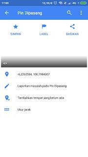 tambah lokasi tempat di google maps