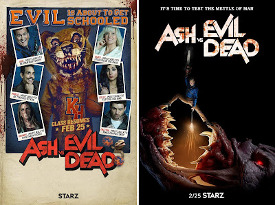 Ash vs Evil Dead Season 3 Teaser One Sheet Television Posters