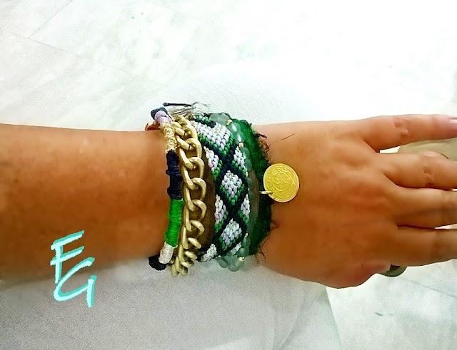 FG και κοσμήματα σε αποχρώσεις του πράσινου...!