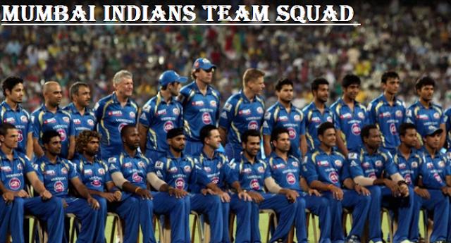 Mumbai Indians Team 2018