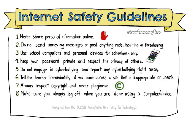 Internet Safety Guidelines in Schools (TCDSB AUP)