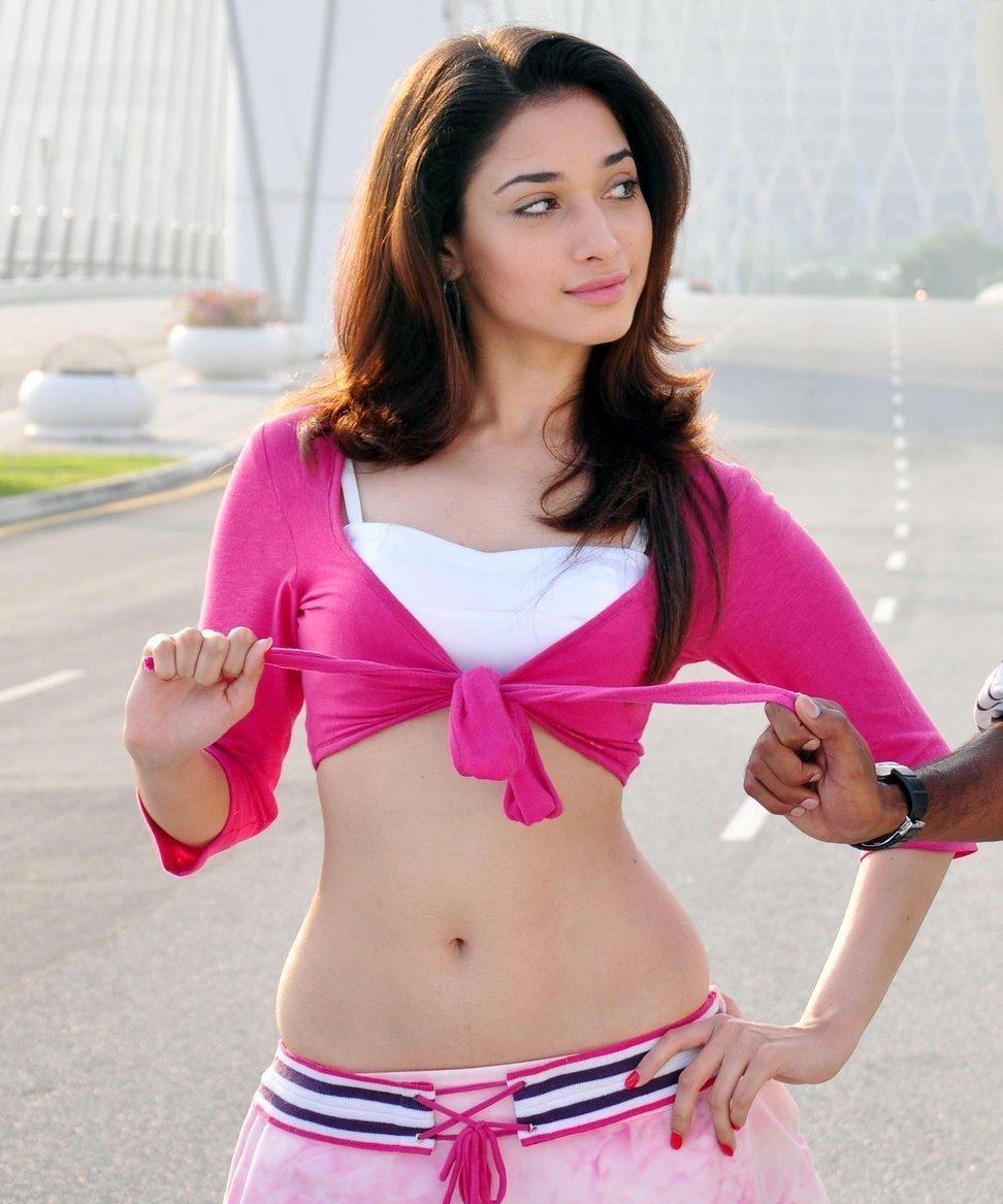 Hottest Actress Photos Tamanna Unseen Hot  Sexy Hip Show -5483