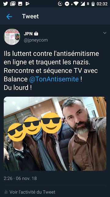 Balance ton antisémite, BTA,Balance ton antisémite