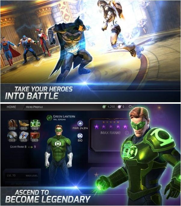 DC Legends v1.8.1 Apk Mod (God Mode/Massive Damage)