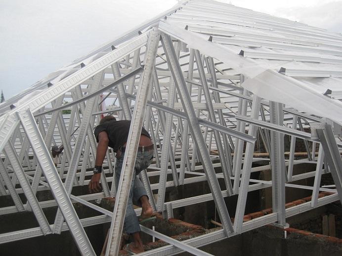Harga Jasa Pemasangan Borongan Atap Baja Ringan BANTEN