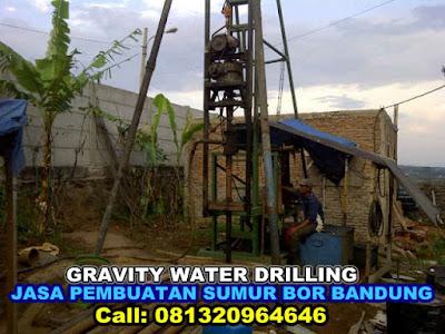 HARGA JASA PEMBUATAN SUMUR BOR DI GRAVITY WATER DRILLING BANDUNG