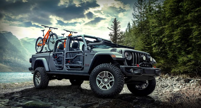 Jeep Gladator 2020 New Modifications Mopar