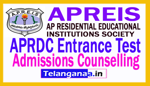 APRDC CET Admissions Counselling