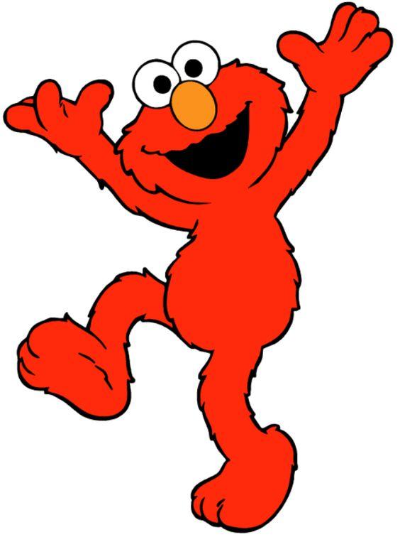 ♥ Dibujos a color ♥: Dibujos de Elmo a color