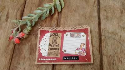 Personalizando caderno de receita