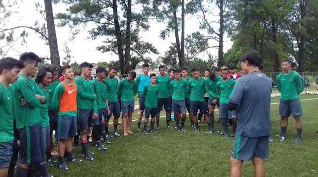 Sebanyak 23 Pemain Skuad Garuda Muda Siap Bertanding Di Piala AFF U-19