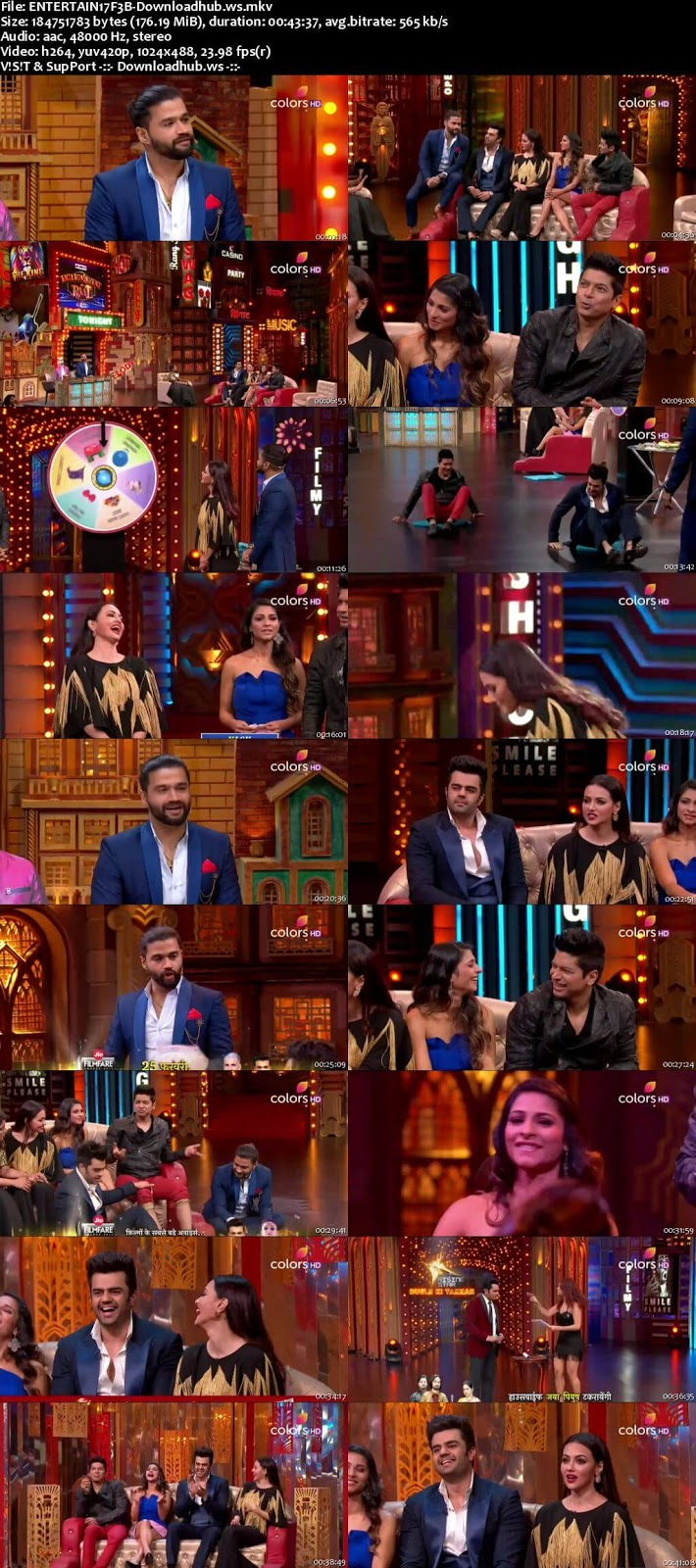 Entertainment Ki Raat 17 February 2018 Episode 26 HDTV 480p
