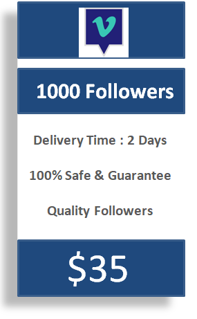 1000 Vimeo Followers