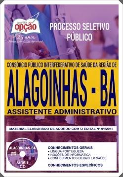 Apostila Policlínica de Alagoinhas 2018 Assistente Administrativo