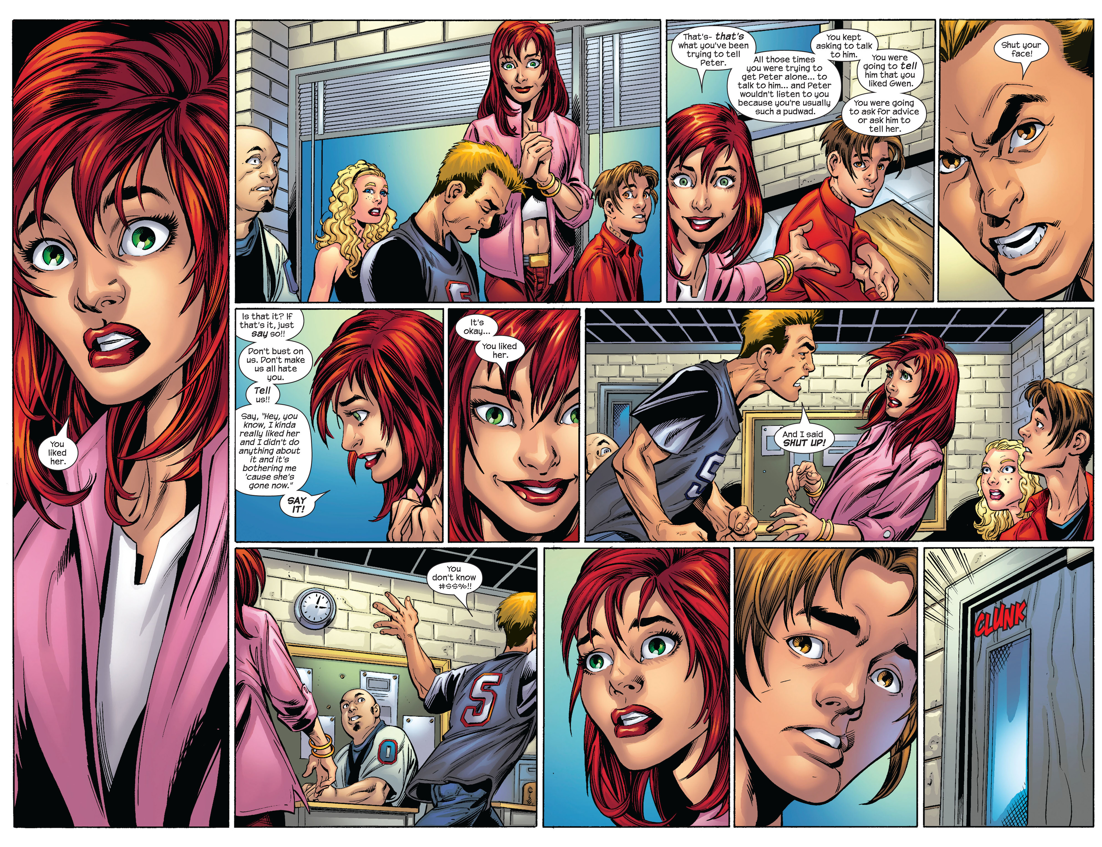 Read online Ultimate Spider-Man (2000) comic -  Issue #65 - 10