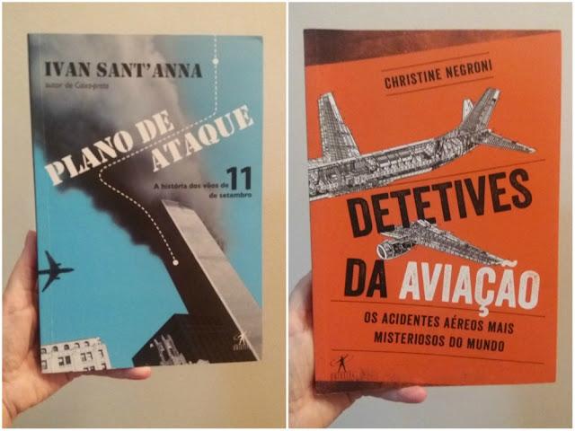 Livros sobre desastres da aviação para NÃO ler antes de viajar!