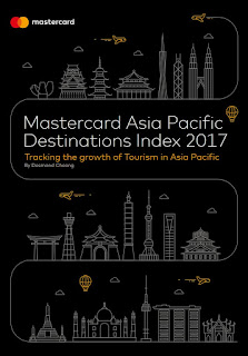 Source: Mastercard. Cover of the Mastercard Asia Pacific Destinations Index 2017 report.