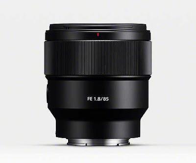 سوني تعلن عن عدسة FE 85mm F1.8 لكاميرات الإطار الكامل