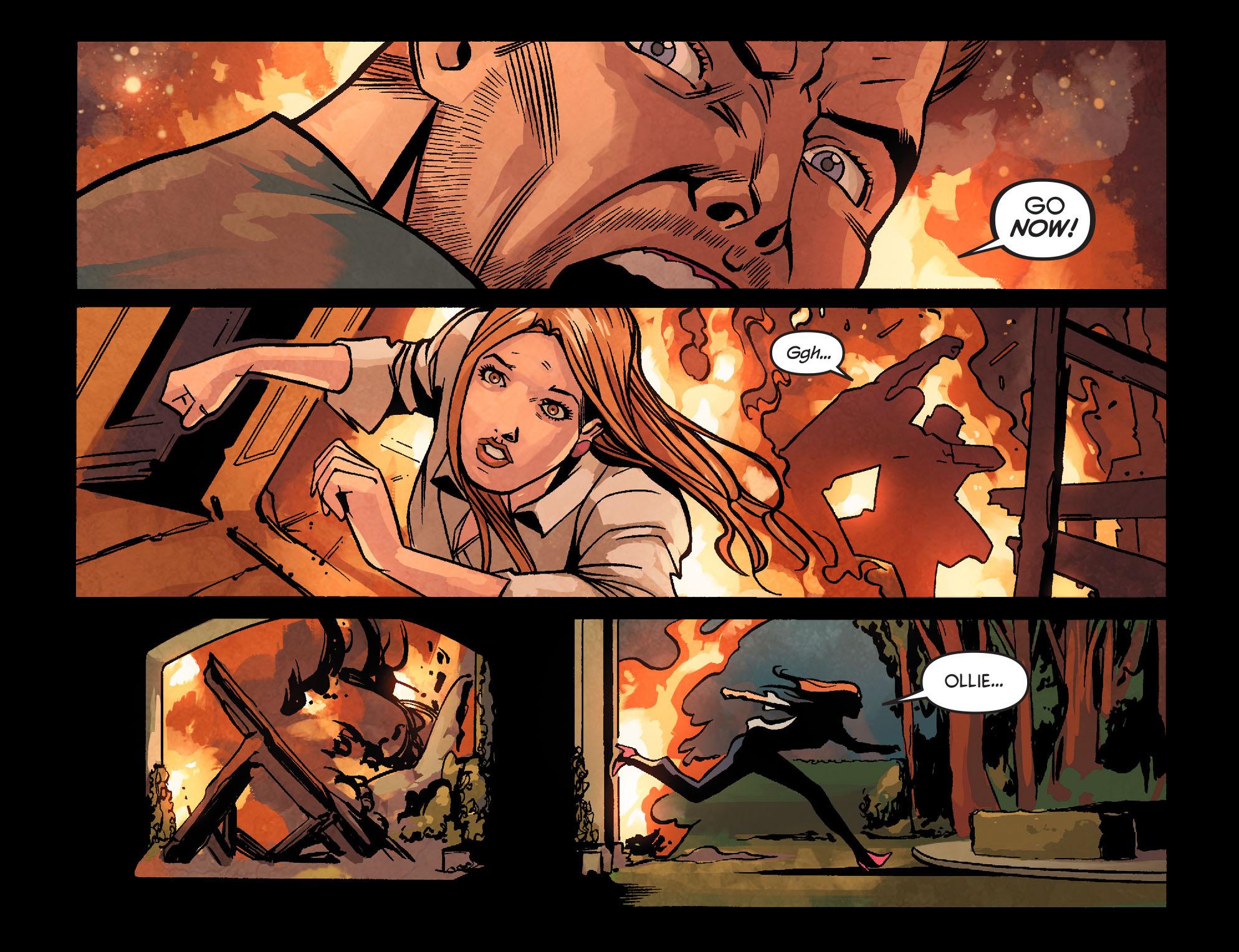 Read online Arrow: Season 2.5 [I] comic -  Issue #22 - 18