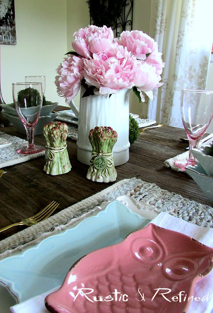 Tablescape Ideas with fresh flowers