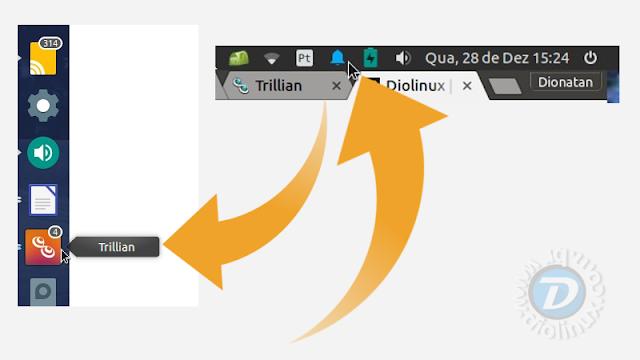 Trillian Ubuntu Unity