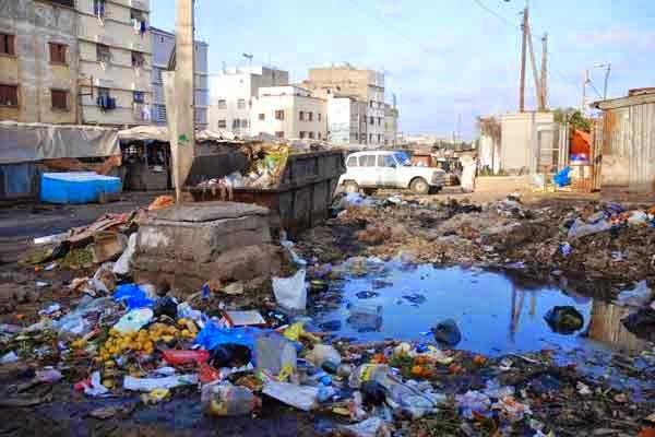 موضوع حول التلوث البيئي