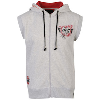 UFC Men's Las Vegas Sleeveless Hoody - Grey