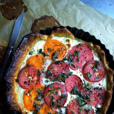 smaczna tarta, pizza itp.
