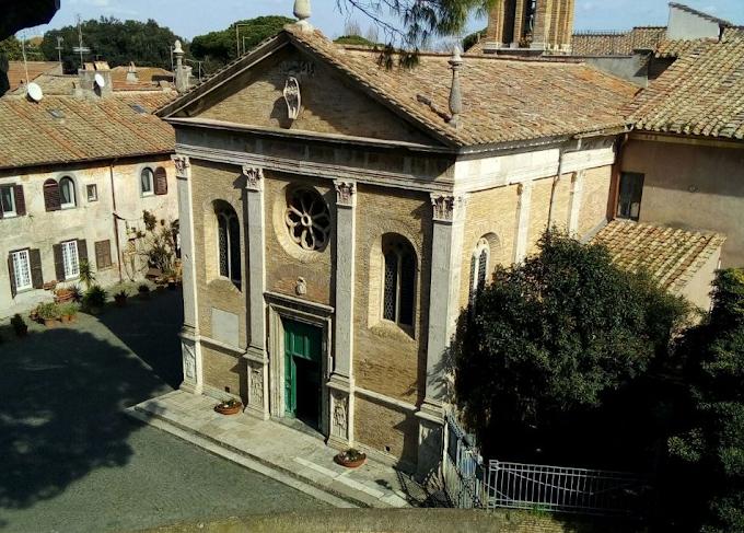 A spasso per Roma... in autobus: La Chiesa di Sant'Aurea ed il Borgo di Ostia Antica