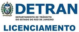 Sem vistoria, licenciamento do Detran-RJ vai custar R$ 202,55 e poderá ser emitido em 170 postos