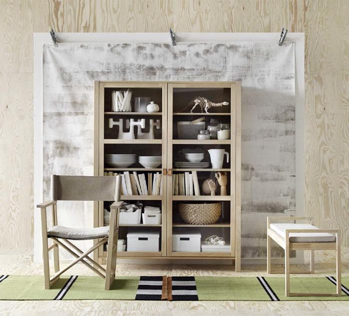 Ikean uusi BJÖRKSNÄS mallisto  Voikukkapelto